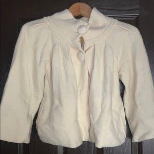 Amalialad wool sweater coat